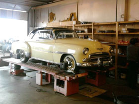 C and T automotive works on classic cars