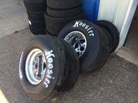 C and T racing tires